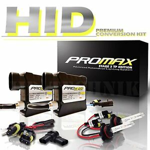 Promax Slim HID Conversion Kit H13 9008 Hi/Low Xenon Headlight Front Light Bulbs