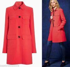 Hip Length Viscose NEXT Button Coats & Jackets for Women