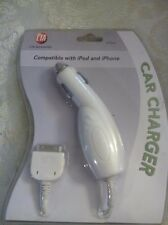 NEW CTA Car Charger Compatible with Apple iPod iPhone Cell Phones IP-CL
