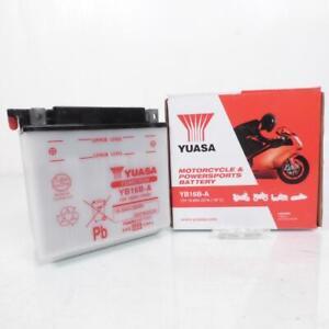 Batterie Yuasa pour Moto Yamaha 700 Virago 1984 à 1987 Neuf