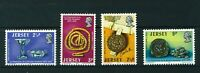 GB Jersey 1973 La Society Jersiaise full set of stamps. MNH. Sg 85-88.