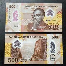 Angola set 200 500 kwanzas 2020 Polymer UNC
