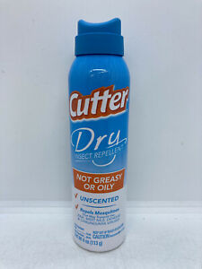 Cutter Dry Insect Repellent Spray Unscented 4 oz
