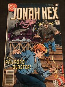 Jonah Hex DC Comic Book (1978)
