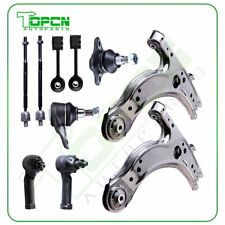 Control Arm Kit compatible with Volkswagen Beetle 98-10 Front Right and Left Lower w//Ball Joint Bushing and Tie Rod Assembly Set of 6