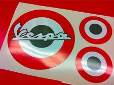 Kit VESPA Bandiera ITALIA 3 adesivi stickers
