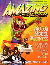 AMAZING VEHICULAR MODELER #1 Rat Fink MR GASSER Batmobile MUNSTERS KOACH Mach 5