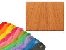 CYBERLOXSHOP PHANTASIA KANEKALON JUMBO BRAID BRASS ORANGE HAIR DREADS
