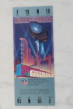 1983 SuperBowl XVII 17 Full Unused Authentic Ticket Washington Redskins Dolphins