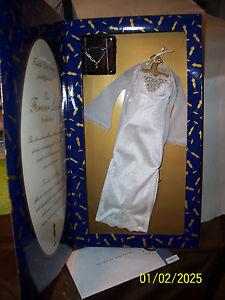 """Franklin Mint Forever Love White Night Gown Ensemble for 16"""" vinyl doll NRFB"""