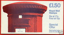 FP1b £1.50 Pillar Box RM Folded Booklet