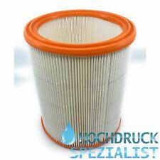 Rundfilter für Nilfisk Alto 11618, EC 480, Lamellenfilter, Staubklasse H