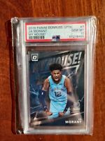 2019 Panini Donruss Optic Ja Morant MY HOUSE! Rookie #7 PSA GEM MT 10