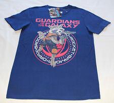 Marvel Guardians Mens Rocket Racoon Navy Short Sleeve T Shirt Size XXS New