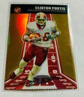 R2519 - CLINTON PORTIS - 2004 TOPPS PRISTINE - #37 - GOLD - #78/99 - REDSKINS -