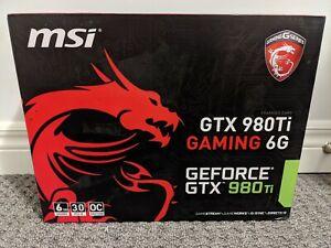 MSI Nvidia GTX 980Ti Gaming 6G