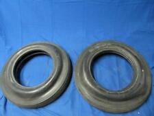 Vintage 70's Pair Moroso Drag Special Tires 7.10-15 2 Ply Nylon Tubeless