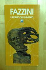 PERICLE FAZZINI IL RESPIRO DELL'IMMENSO  SAN MARINO 2001