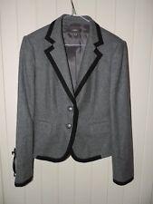 MEXX Womens 2 Button Blazer Jacket medium UK 14 Grey