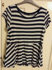 George Striped Plus Size T-Shirts for Women