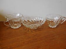 3 Vintage Glass Items