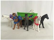#1 Playmobil Geobra Collectible Toys 12 Assorted Equestrian themed set G-1-1