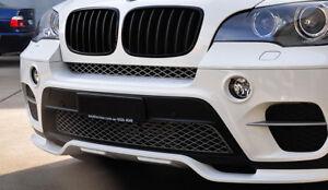 BMW X5 E70 LCI ( depuis 2011 ) RAJOUT DE PARE CHOC AVANT /JUPE AVANT