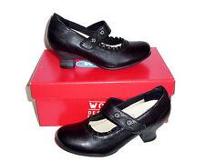 Wolky Womens Size 38 7 7.5 Rossini Maryjane Heel Black Bavaria Dressy Shoes