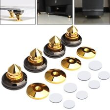 Pack of 4pcs Brass Speaker Spikes CD Audio Amplfier Turntable Spike Isolators