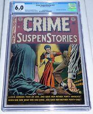 Crime SuspenStories #13 CGC Universal Grade 6.0 E.C. Comics Lizzie Borden Cover