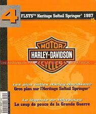 HARLEY DAVIDSON FLSTS 1340 Heritage Softail Springer 1997 ; Story HD WW1 MOTO