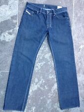 DIESEL LARKEE STRAIGHT BLUE JEANS W 34 L 34 VERY GOOD CONDITION!