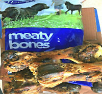 x5 MEATY BONES - 1 or 5 Packs Hollings 100% Natural Roast Dog Bone bp Beef Feed