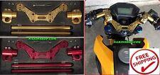 Honda Grom Msx 125 Handle Bar Lower Sport Kit Set Support Squat Drag Bike Race
