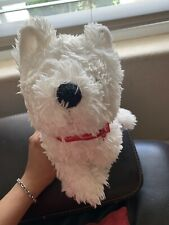 American Girl Coconut Plush White Puppy Dog Westie Stuffed Soft Terrier 14 Inch