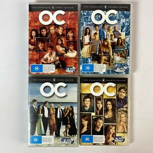 The OC Complete Seasons 1 - 4 DVD -  25 Discs R4 Special Features Free Post