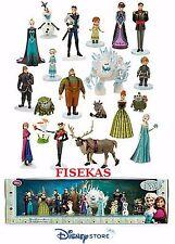 Disney Store Frozen 20 pc Mega Figure Mini Doll Play Set PVC Cake Top 4.5 in NEW