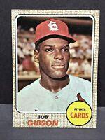 1968 Topps Bob Gibson #100 EX - NM St. Louis Cardinals HOF