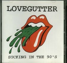 Lovegutter Sucking In The 90's CD Indie punk
