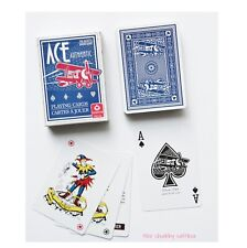 Ace Authentic Cartamundi Playing Cards Deck with Jokers 2008 BLUE AIRPLANES