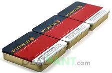 PUNCH MINIATURES CIGAR BOX TIN SET - STASH BOX - ARTS & CRAFTS
