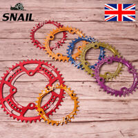 UK SNAIL 30-52T 104BCD Round/Oval MTB Bike Single Chain Chainset Chainring Bolts