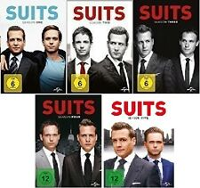 19 DVDs * SUITS - SEASON / STAFFEL 1 - 5 IM SET # NEU OVP +