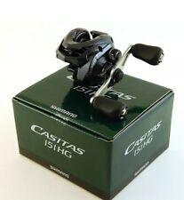 Shimano Casitas 151HG 7.2:1 Left Hand Baitcast Fishing Reel - CAS-151HG