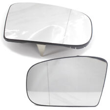 2X Door Side Wing Mirror Glass Wide Angle Heated Fit for Mercedes Benz W220 S500