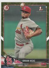 2018 Bowman Baseball  Green Jordan Hicks  St.Louis Cardinals