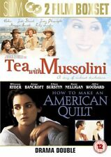 Tea With Mussolini / How To Make An American Quilt [DVD, 2007] NEW SEALED