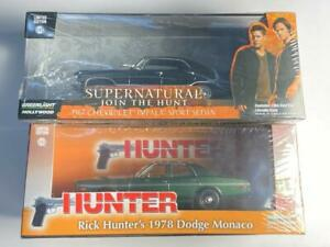 GREENLIGHT MOVIE DIECAST MODEL CARS 1:43 - BOTH CARS INCLUDED