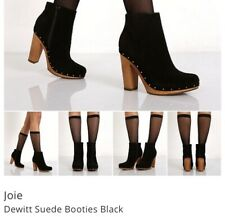 Joie Womens Dewitt Boot- Black- Size 39.5/ 9.5- $298