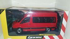Volkswagen crafter rosso cararama  1/24 die cast